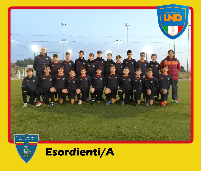 ASD Fabrizio Miccoli - Categoria Esordienti/A