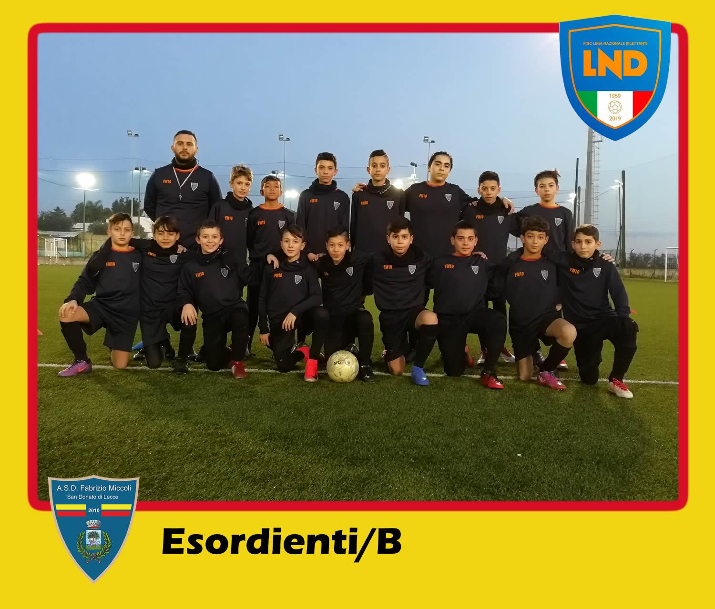 ASD Fabrizio Miccoli - Categoria Esordienti/B