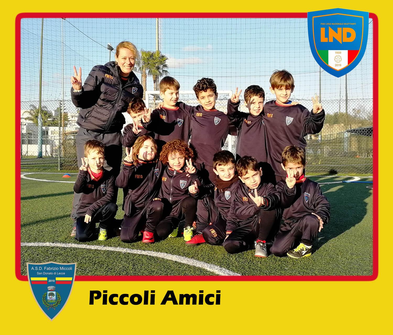 ASD Fabrizio Miccoli - Categoria Piccoli Amici