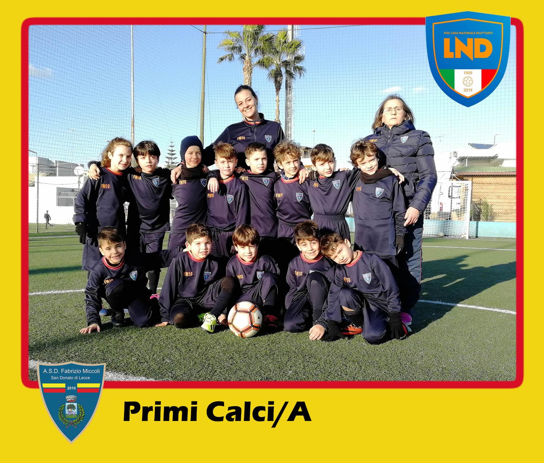 ASD Fabrizio Miccoli - Categoria Primi Calci/A