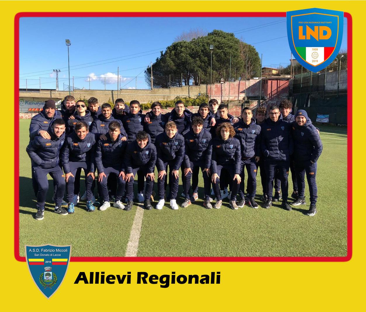ASD Fabrizio Miccoli - Categoria Allievi Regionali