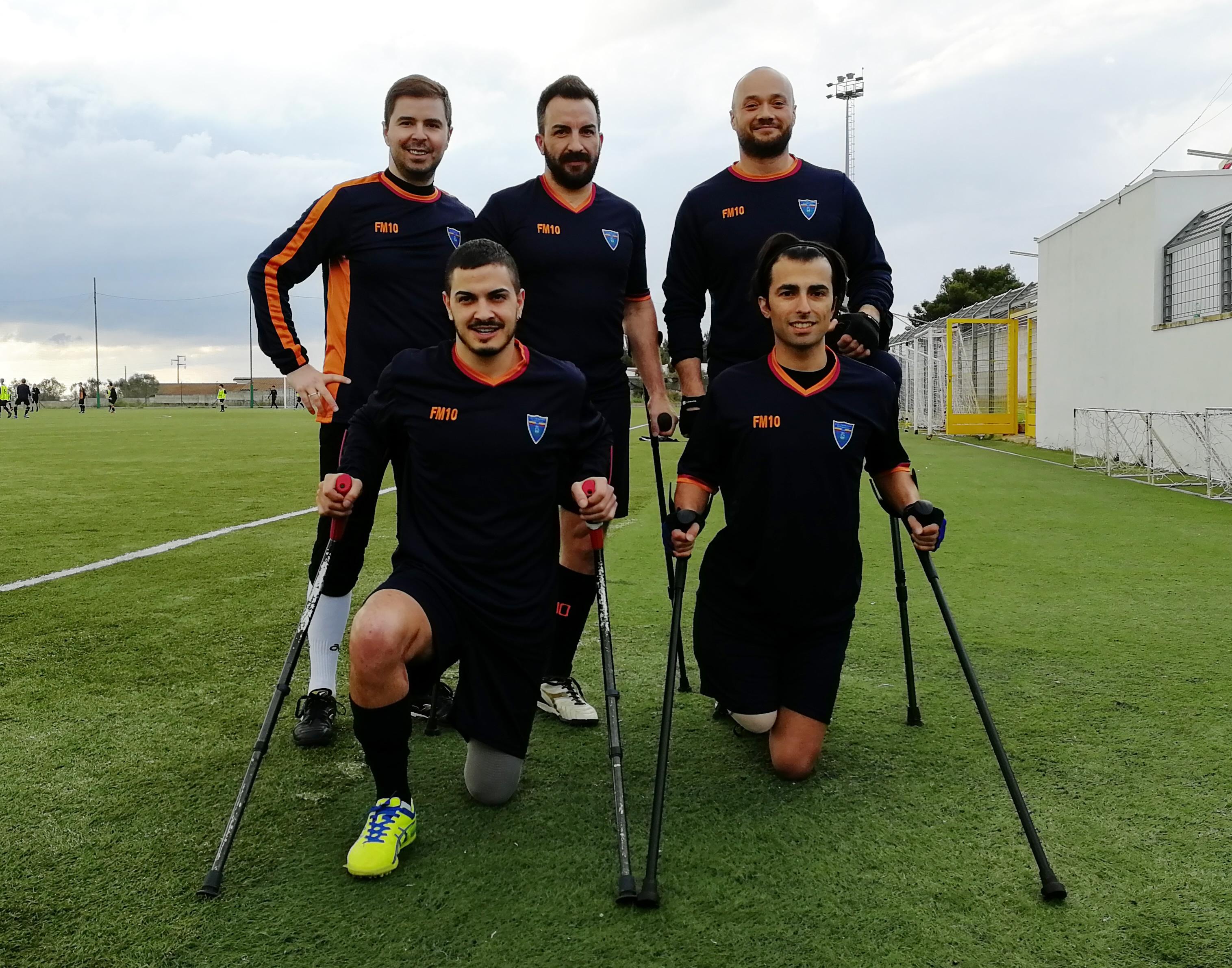 Squadra Calcio Amputati Lecce